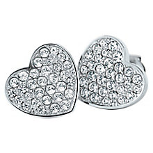 Tommy Hilfiger Stainless Steel Heart Stud Earrings - Product number 6223060