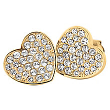 Tommy Hilfiger Gold Plated Heart Stud Earrings - Product number 6223079