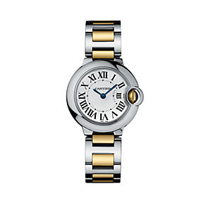 Cartier Ballon Bleu ladies' two colour bracelet watch - Product number 6227155