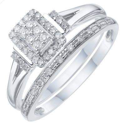 Bridal Set Diamond Rings HSamuel