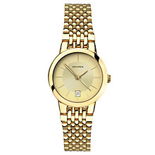 Sekonda Ladies' Gold Plated Bracelet Watch - Product number 6231012
