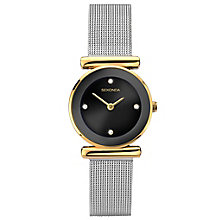 Sekonda Ladies' Two Tone Mesh Bracelet Watch - Product number 6231039