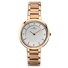 Accurist Ladies' Rose Gold Plated Bracelet Watch - Product number 6231128