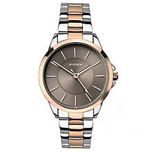 Sekonda Editions Ladies' Two Tone Bracelet Watch - Product number 6231381