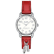 Coach Delancy Ladies' Stainless Steel Strap Watch - Product number 6231594