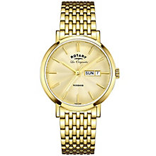 Rotary Les Originales Windsor Gold-Plated Bracelet Watch - Product number 6231616