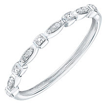 9ct White Gold Diamond Eternity Ring - Product number 6232388