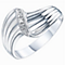 Sterling Silver & Diamond Eternity Ring - Product number 6232515