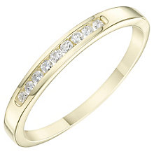 9ct Yellow Gold Diamond Eternity Ring - Product number 6234763