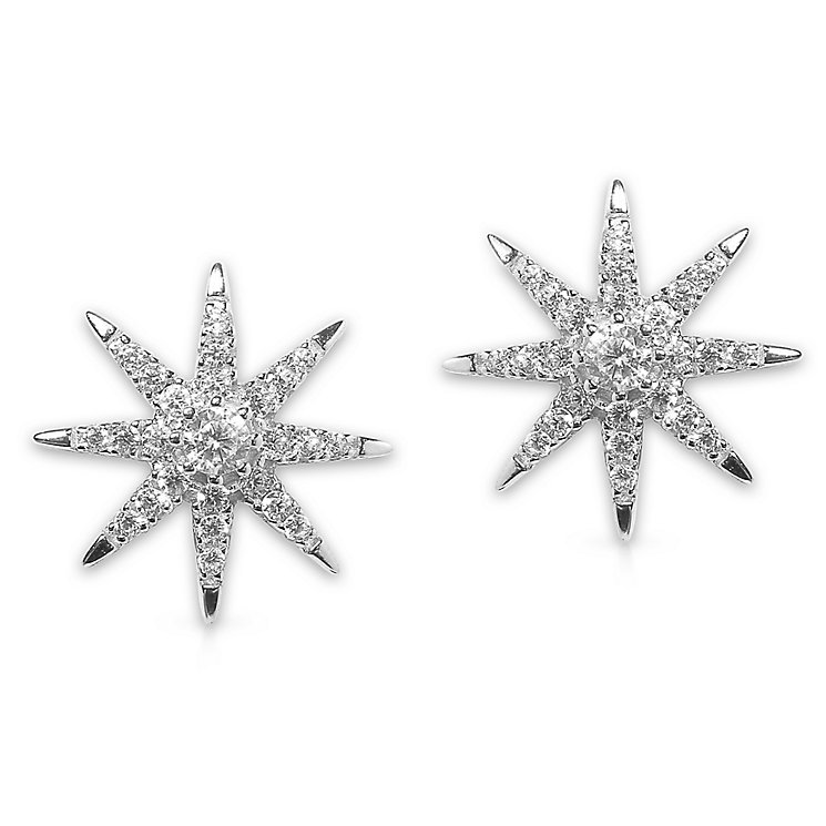 CARAT* Stella Vega Silver Stud Earrings - Product number 6235182