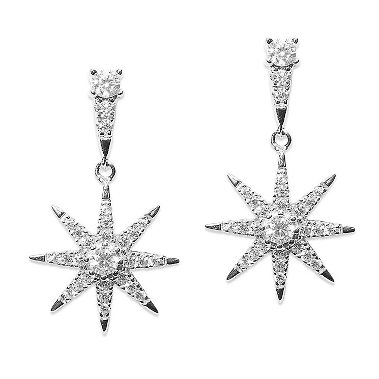 CARAT* Stella Nysa Silver Drop Earrings - Product number 6235239