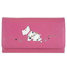 Radley Matinee Large Foldover Pink Leather Purse - Product number 6237134