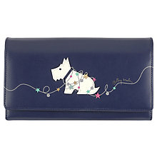 Radley Summer Matinee Large Foldover Black Leather Purse - Product number 6237142
