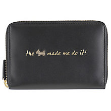 Radley Medium Zip Black Leather Purse - Product number 6237231
