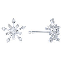 9ct White Gold 0.15ct Diamond Stud Earrings - Product number 6241433