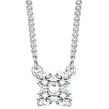 9ct White Gold 0.13 Carat Diamond Pendant - Product number 6242200