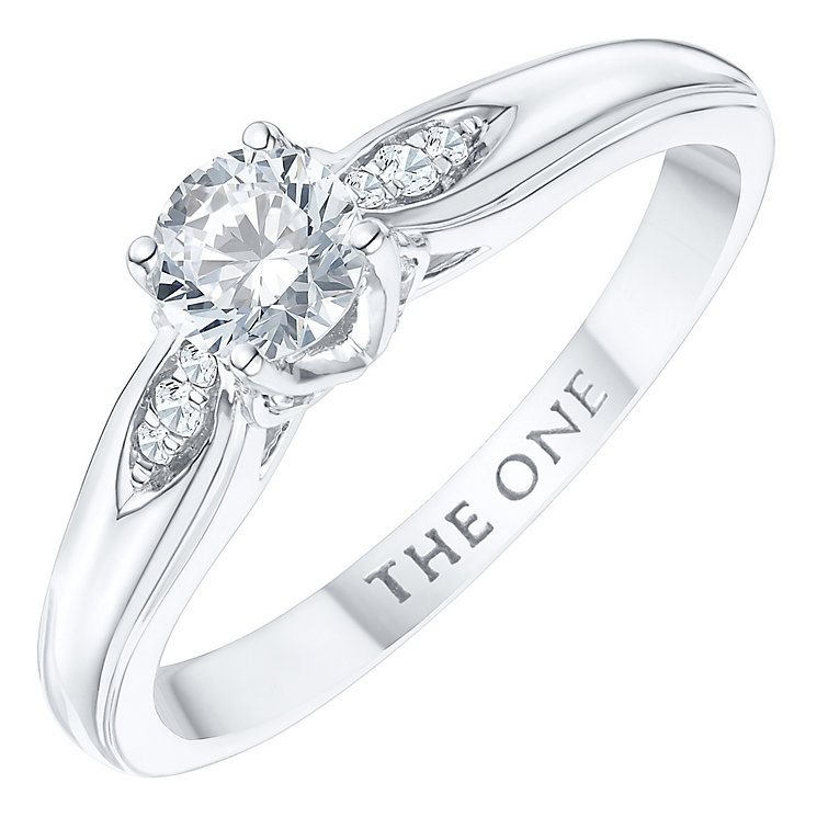 The One 9ct White Gold 1/3ct Diamond Ring - Product number 6243924