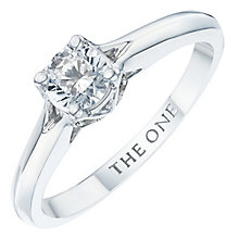 The One 9ct White Gold 1/2ct Diamond Ring - Product number 6244599