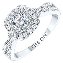 The One 9ct White Gold 3/4ct Diamond Ring - Product number 6245498