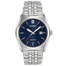 Citizen Eco-Drive Men's Stainless Steel Bracelet Watch - Product number 6246907