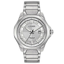 Citizen Eco-Drive Men's Super Titanium Bracelet Watch - Product number 6246923