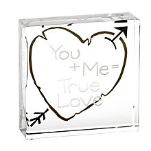 Clear Intentions - You + Me = True Love - Product number 6250769