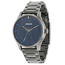 Police Men's Gunmetal Stainless Steel Bracelet Watch - Product number 6251692