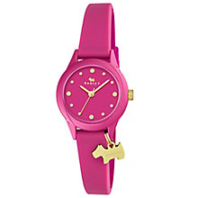 Radley Ladies' Pink Dial Pink Silicone Strap Watch - Product number 6251773