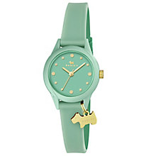 Radley Ladies' Green Dial Green Silicone Strap Watch - Product number 6251846