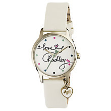 Radley Ladies' Cream Leather Strap Watch - Product number 6251870