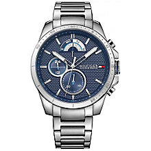 Tommy Hilfiger Blue Dial Stainless Steel Bracelet Watch - Product number 6252095