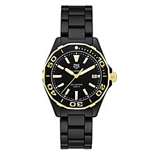 TAG Heuer Aquaracer Ladies' 18ct Gold Bracelet Watch - Product number 6252230