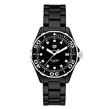 TAG Heuer Aquaracer Ladies' Ceramic Bracelet Watch - Product number 6252249