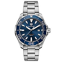TAG Heuer Aquaracer Men's Stainless Steel Bracelet Watch - Product number 6252370