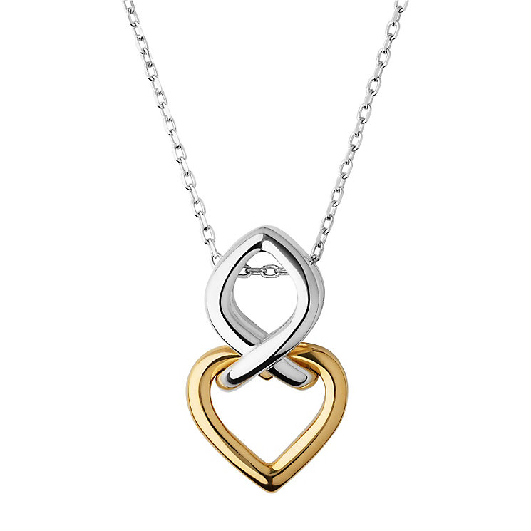 Links of London Sterling Silver Two Colour Pendant - Product number 6252621