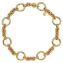Links of London 18ct Gold Vermeil Charm Carrier Bracelet - Product number 6252699