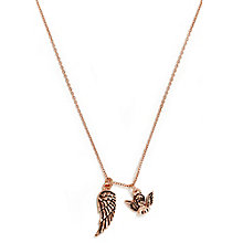 Chrysalis Rose Gold-Plated Guardian Angel Pendant - Product number 6252788