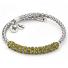 Chrysalis Charisma Peridot Crystal Bohemia Bangle - Product number 6252850