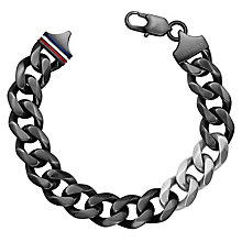 Tommy Hilfiger Men's Black Clasp Bracelet - Product number 6252982