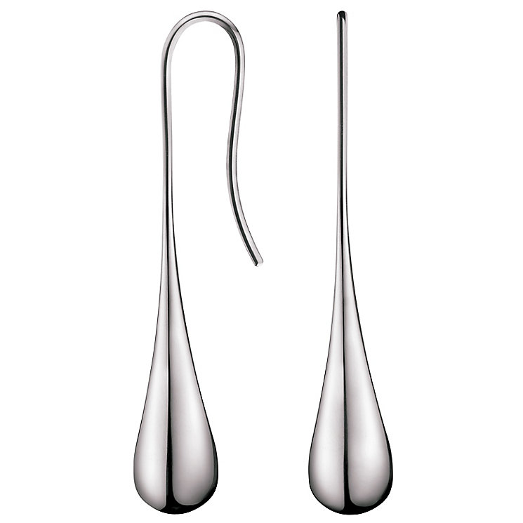 Calvin Klein Ellipse Stainless Steel Drop Earrings - Product number 6253377