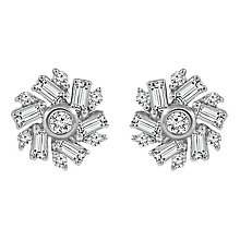 Emmy London 9ct White Gold 1/5ct Diamond Earring - Product number 6254756
