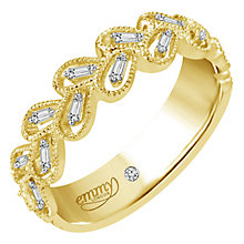 Emmy London 9 Ct Yellow Gold 0.12 Ct Diamond Ring - Product number 6254934