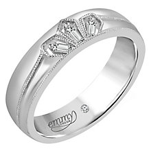 Emmy London 9ct White Gold Diamond Eternity Ring - Product number 6255302