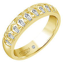 Emmy London 18ct Yellow Gold Diamond Eternity Ring - Product number 6255744