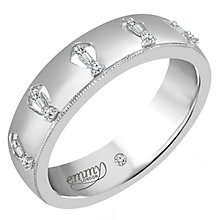 Emmy London Palladium Diamond Eternity Ring - Product number 6255876
