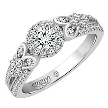 Emmy London 18 Carat White Gold 2/3 Carat Diamond Ring - Product number 6256708