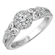 Emmy London 18 Carat White Gold 2/3 Carat Diamond Ring - Product number 6256708