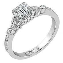 Emmy London 18 Carat White Gold 2/5 Carat Diamond Ring - Product number 6257194