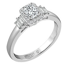 Emmy London 18 Carat White Gold 3/5 Carat Diamond Set Ring - Product number 6257763