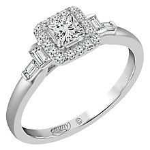 Emmy London Palladium 1/2 Carat Diamond Ring - Product number 6258166